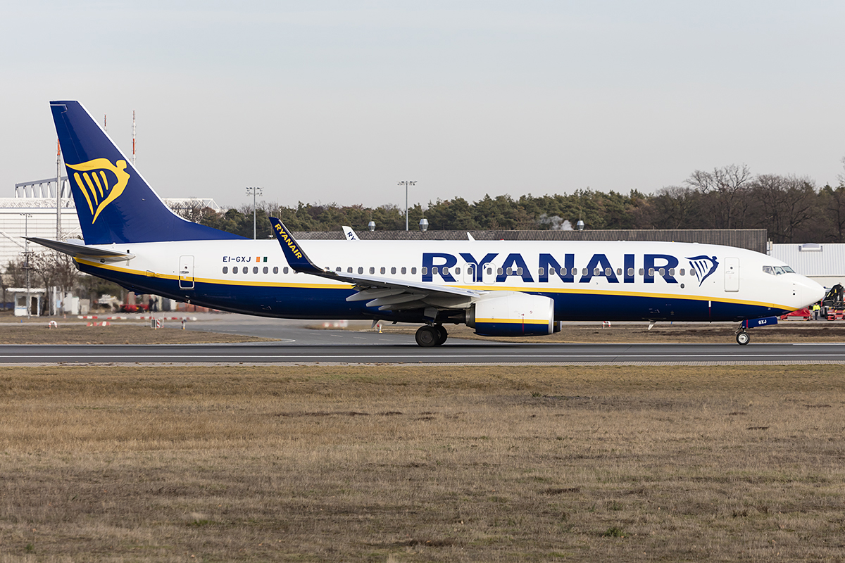 Ryanair, EI-GXJ, Boeing, B737-8AS, 13.02.2019, FRA, Frankfurt, Germany