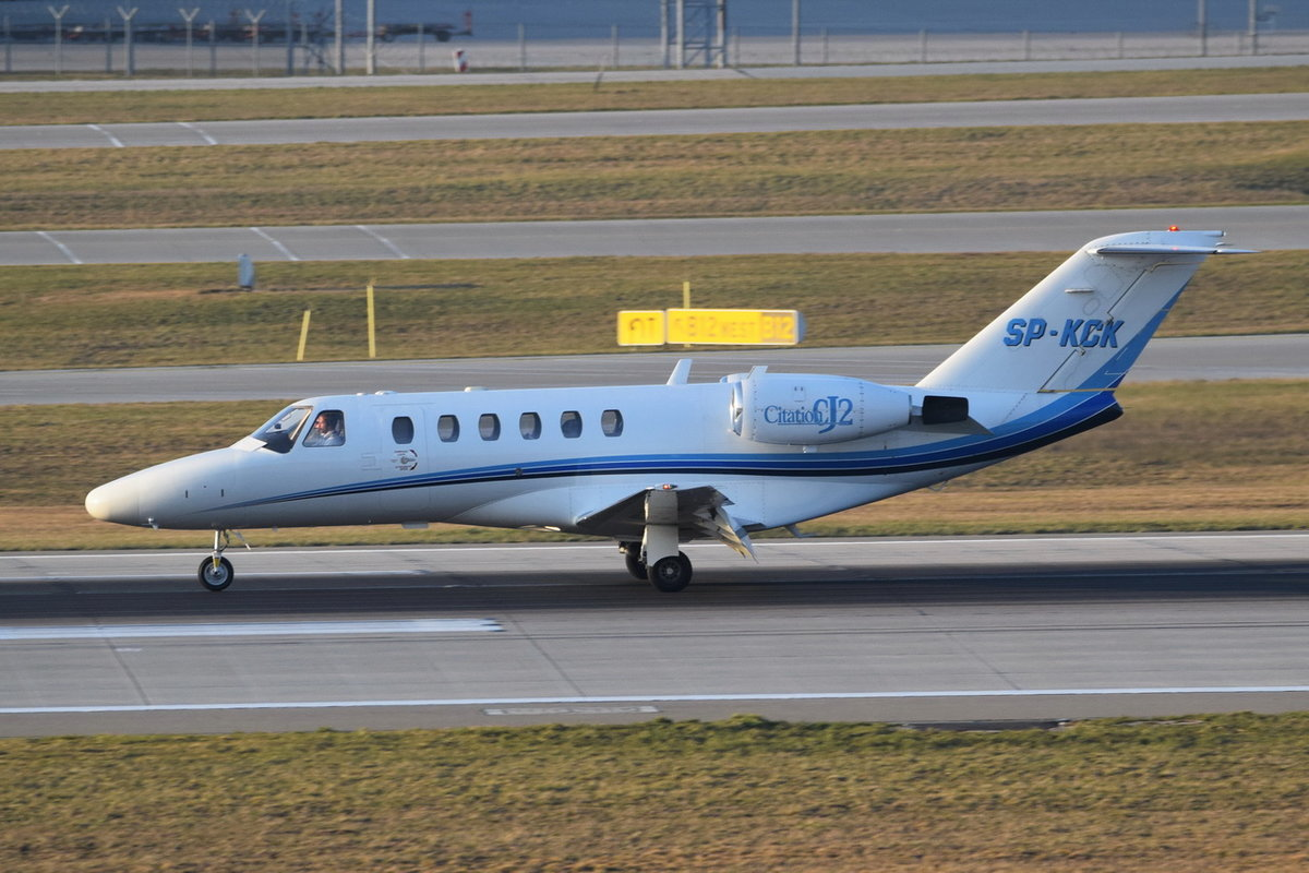 SP-KCK Private Cessna 525A CitationJet CJ2 , 30.03.2019 , MUC