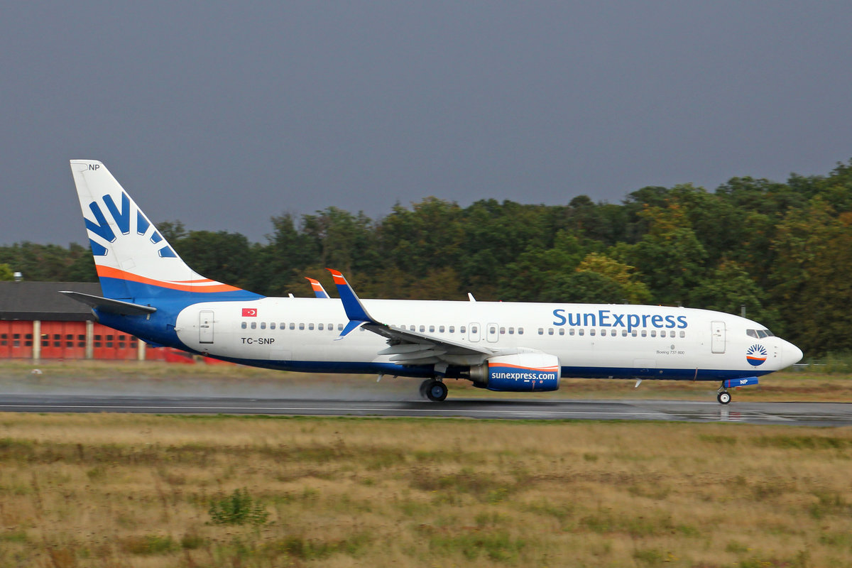 SunExpress, TC-SNP, Boeing 737-8HC, msn: 40777/3320, 29.September 2019, FRA Frankfurt, Germany.