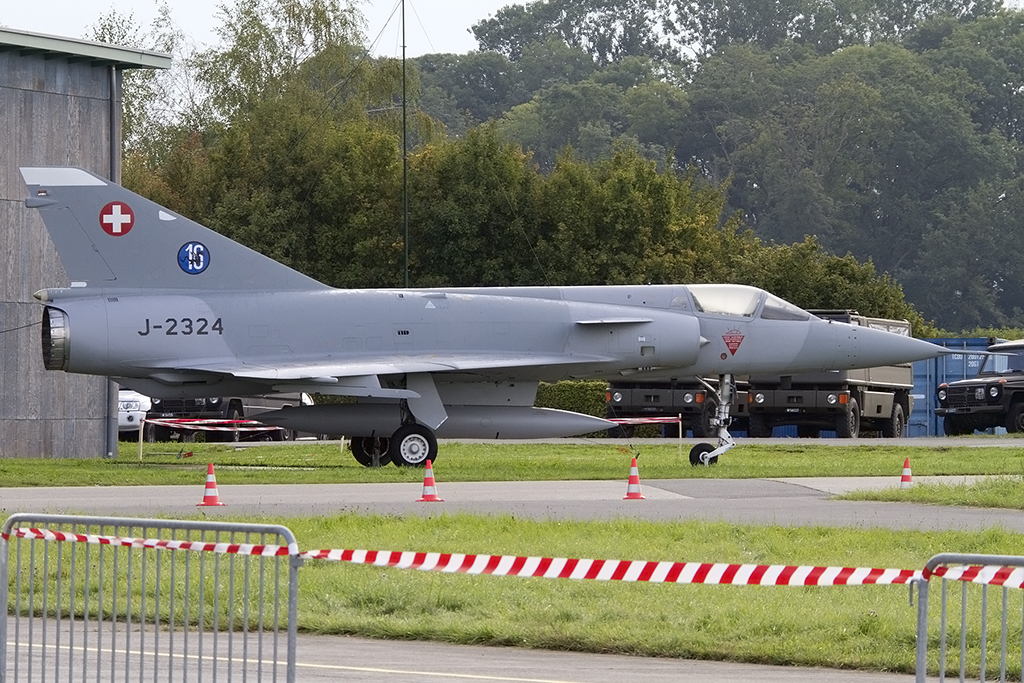 Swiss Air Force, J-2324, Dassault, Mirage III, 29.08.2014, LSMP, Payerne, Switzerland