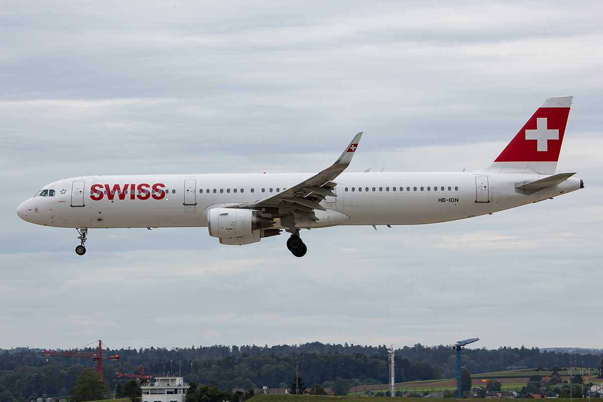 Swiss, HB-ION, Airbus, A321-111, 17.08.2019, ZRH, Zürich, Switzerland