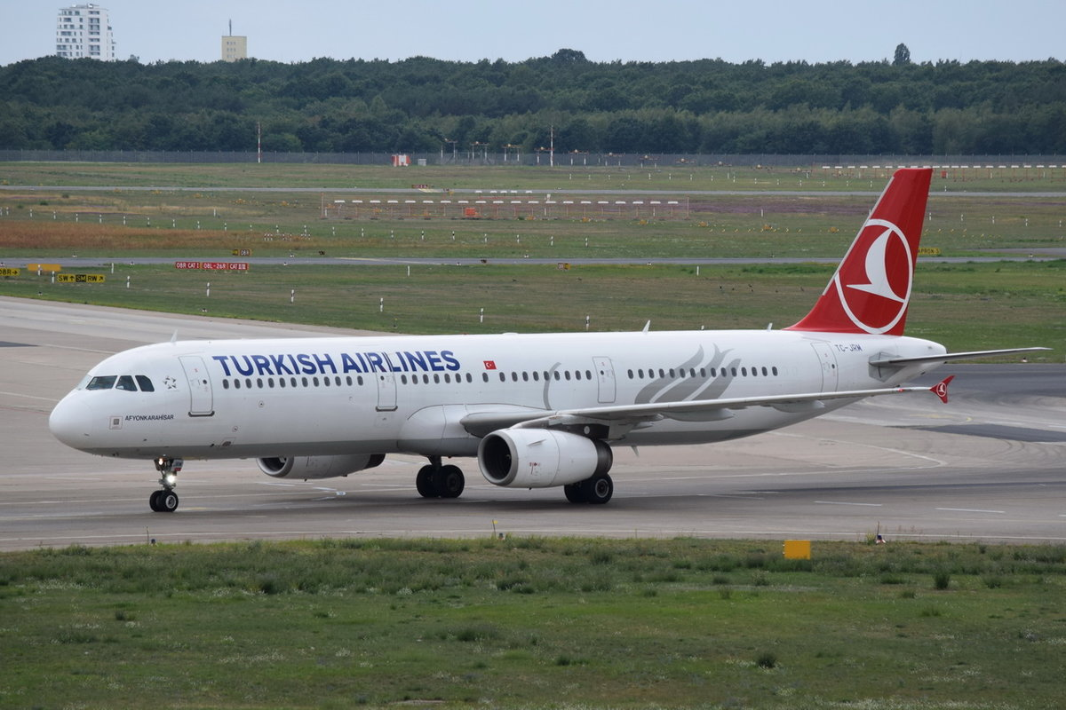 TC-JRM Turkish Airlines Airbus A321-231 , 15.08.2019 , TXL