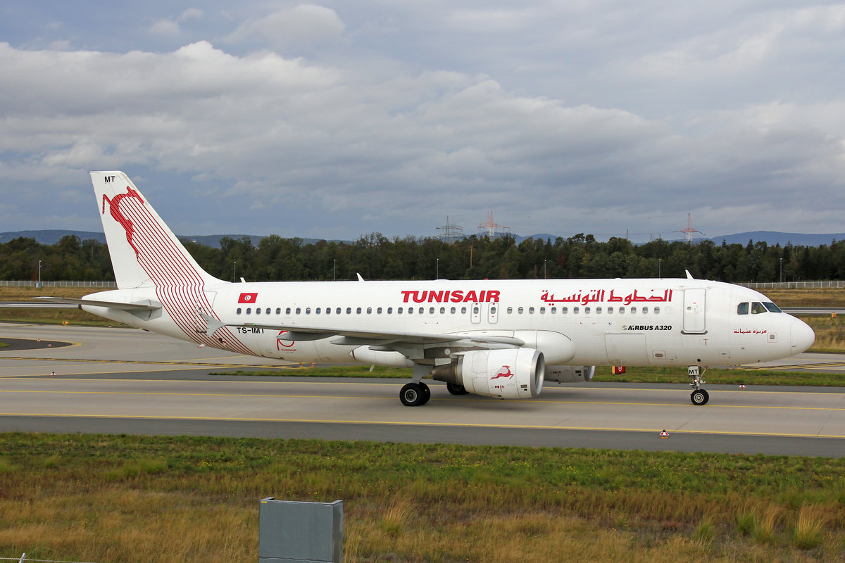 Tunisair, TS-IMT, Airbus A320-214, msn: 5204,  Aziza Othmana , 70 Year/ane  Sticker, 29.September 2019, FRA Frankfurt, Germany.