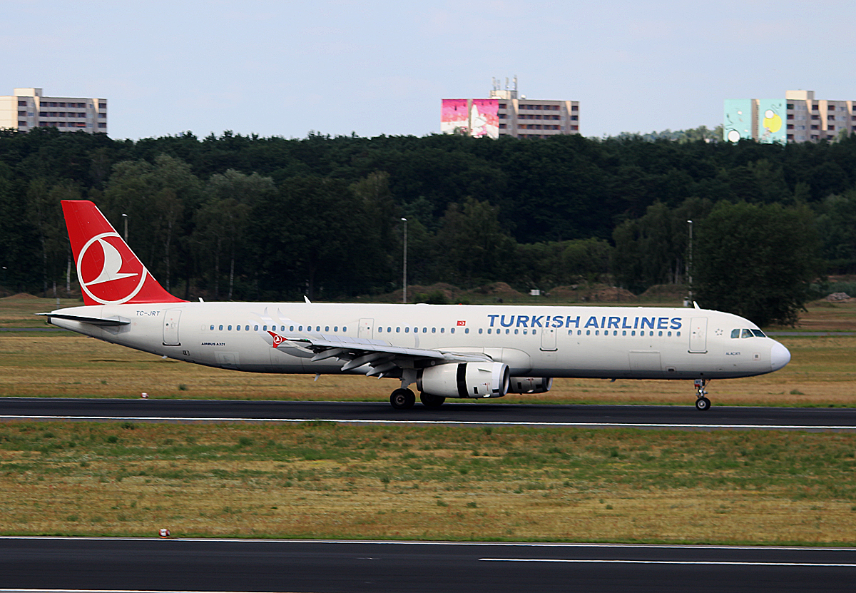 Turkish Airlines, Airbus A 321-231, TC-JRT, TXL, 20.07.2016