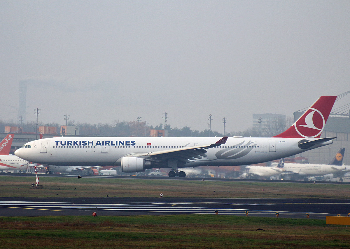 Turkish Airlines, Airbus A 330-303, TC-JOH, TXL, 24.11.2019