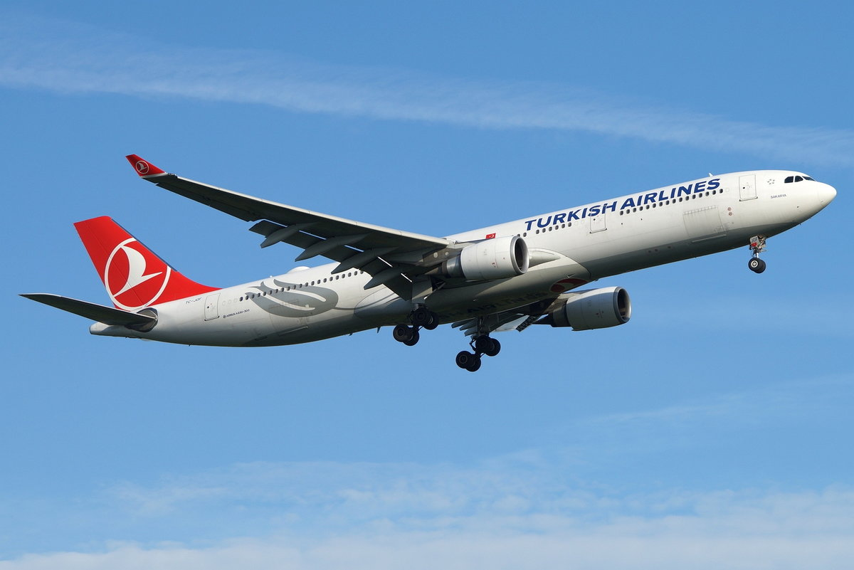 Turkish Airlines, Airbus A330-303 TC-JOF, cn(MSN): 1616,