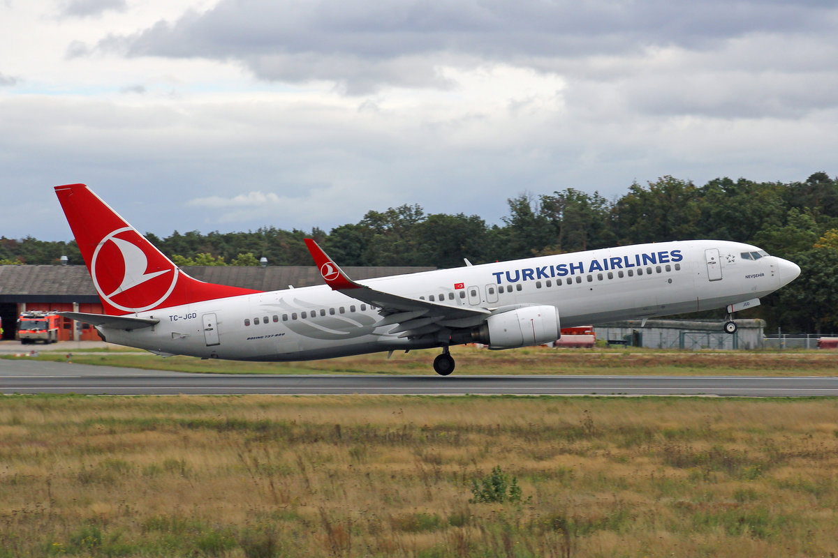 Turkish Airlines, TC-JGD, Boeing B737-8F2, msn: 29788/791,  Nevsehir , 28.September 2019, FRA Frankfurt, Germany.