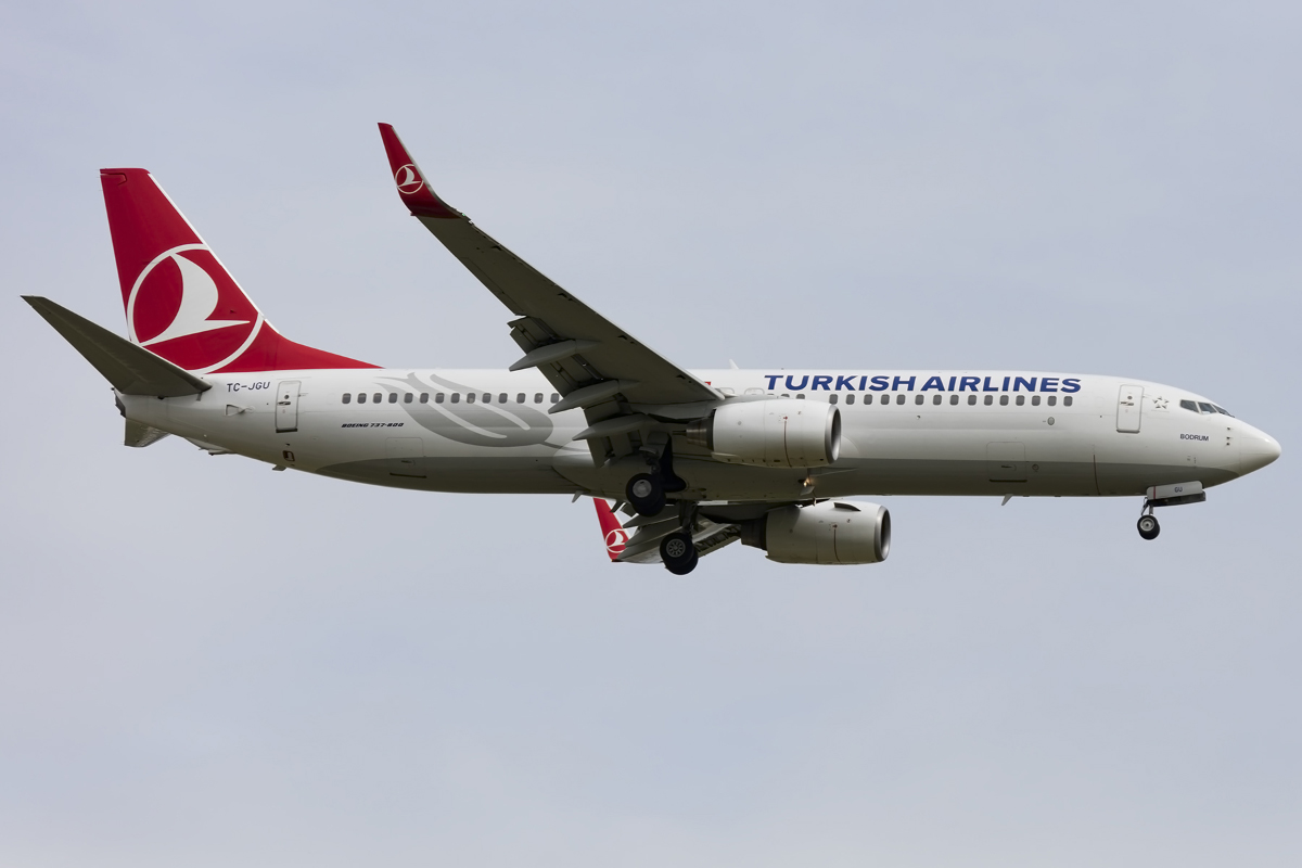 Turkish Airlines, TC-JGU, Boeing, B737-8F2, 07.05.2016, CDG, Paris, France