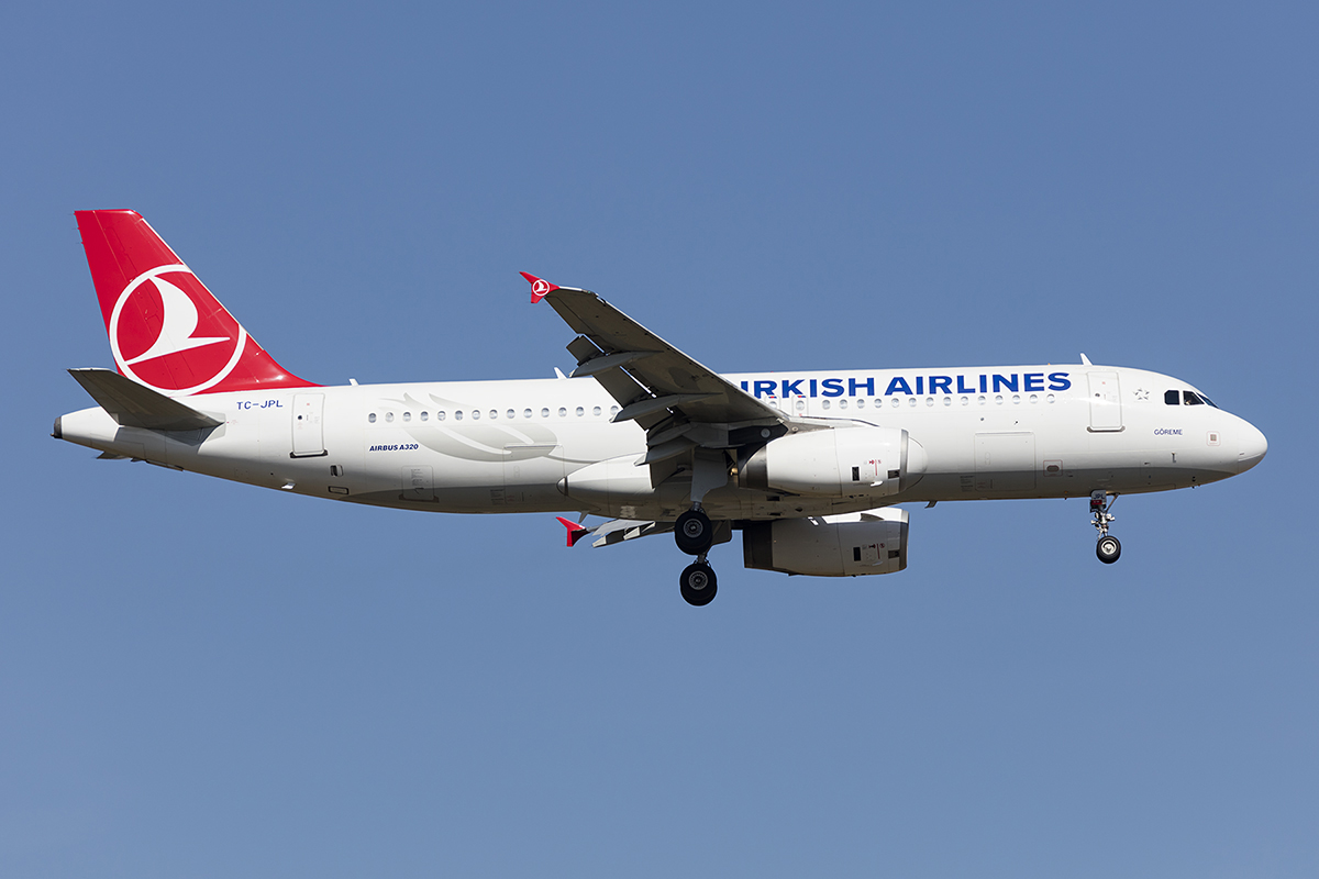 Turkish Airlines, TC-JPL, Airbus, A320-232, 07.04.2018, FRA, Frankfurt, Germany