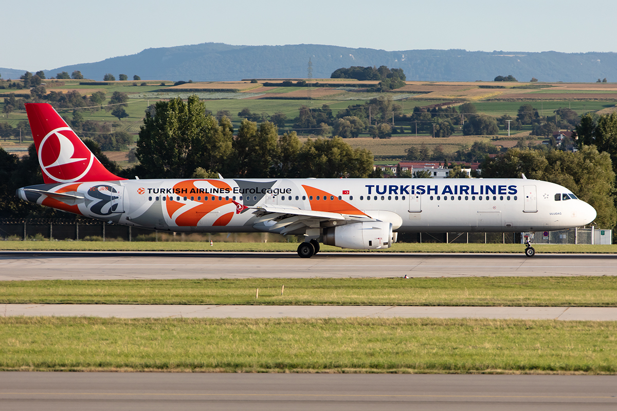 Turkish Airlines, TC-JRO, Airbus, A321-231, 12.09.2019, STR, Stuttgart, Germany