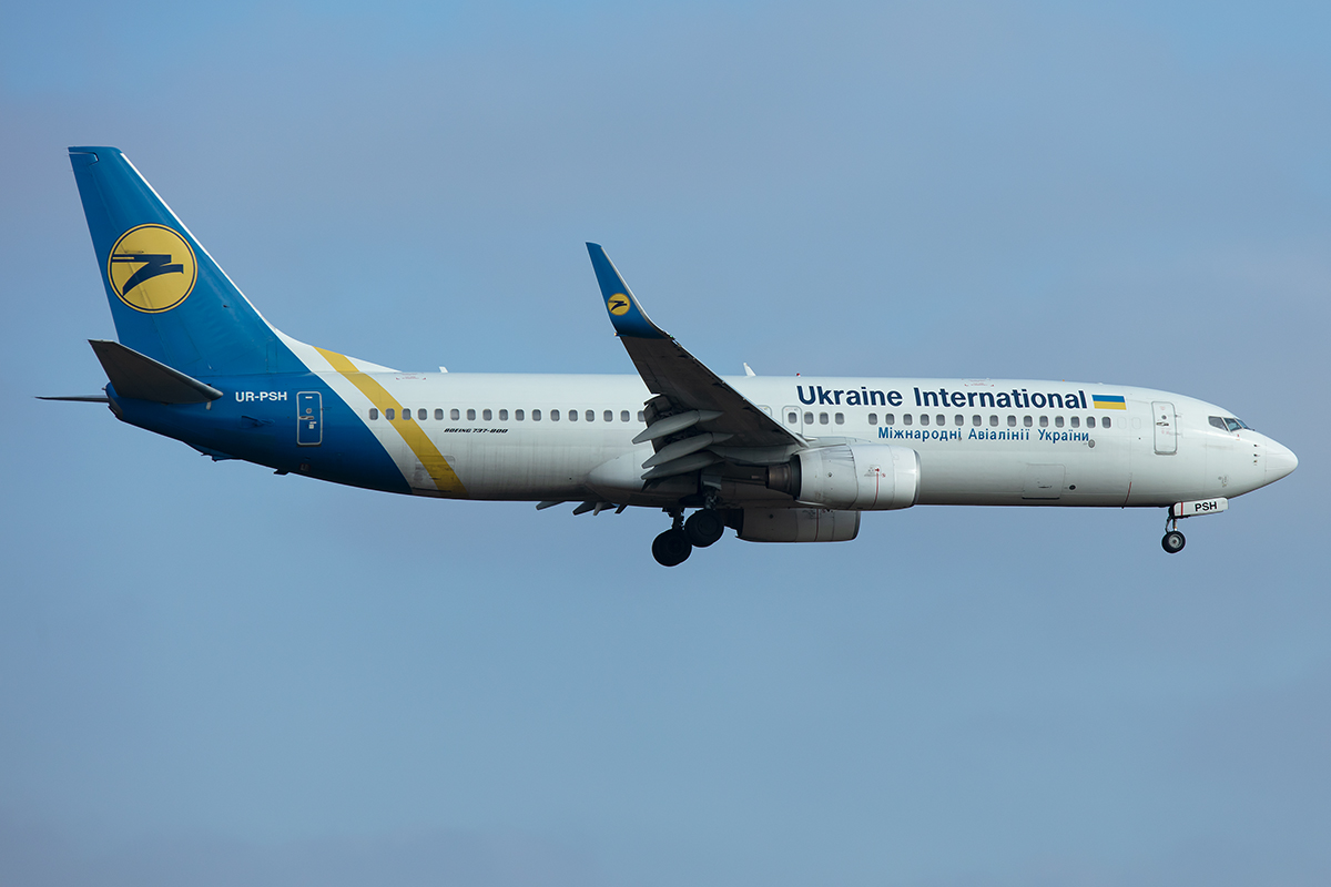Ukraine International, UR-PSH, Boeing, B737-85R, 21.01.2020, ZRH, Zürich, Switzerland