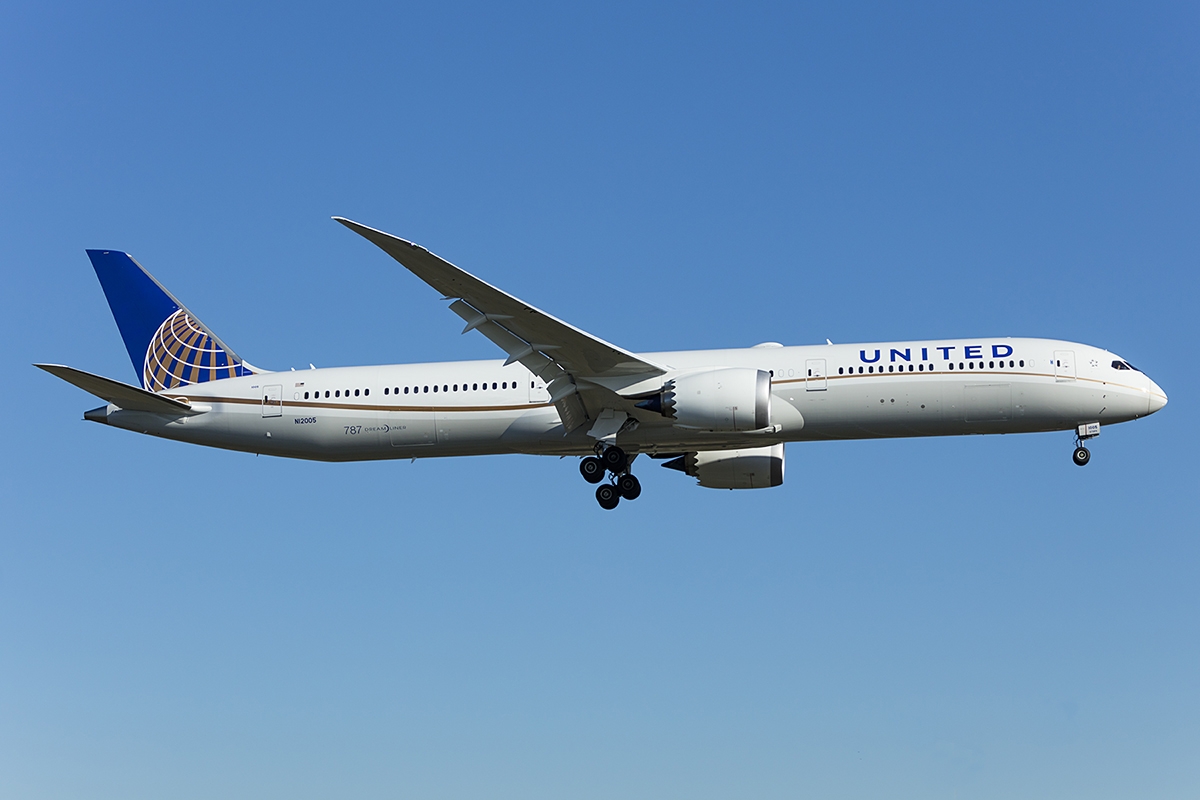 United Airlines, N12005, Boeing, B787-10, 19.04.2019, FRA, Frankfurt, Germany