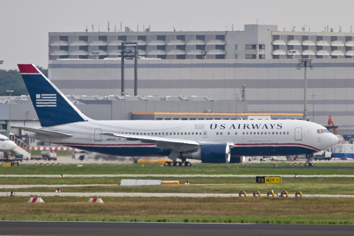 US Airways, N251AY, Boeing, 767-300 ER, 15.09.2014, FRA-EDDF, Frankfurt, Germany