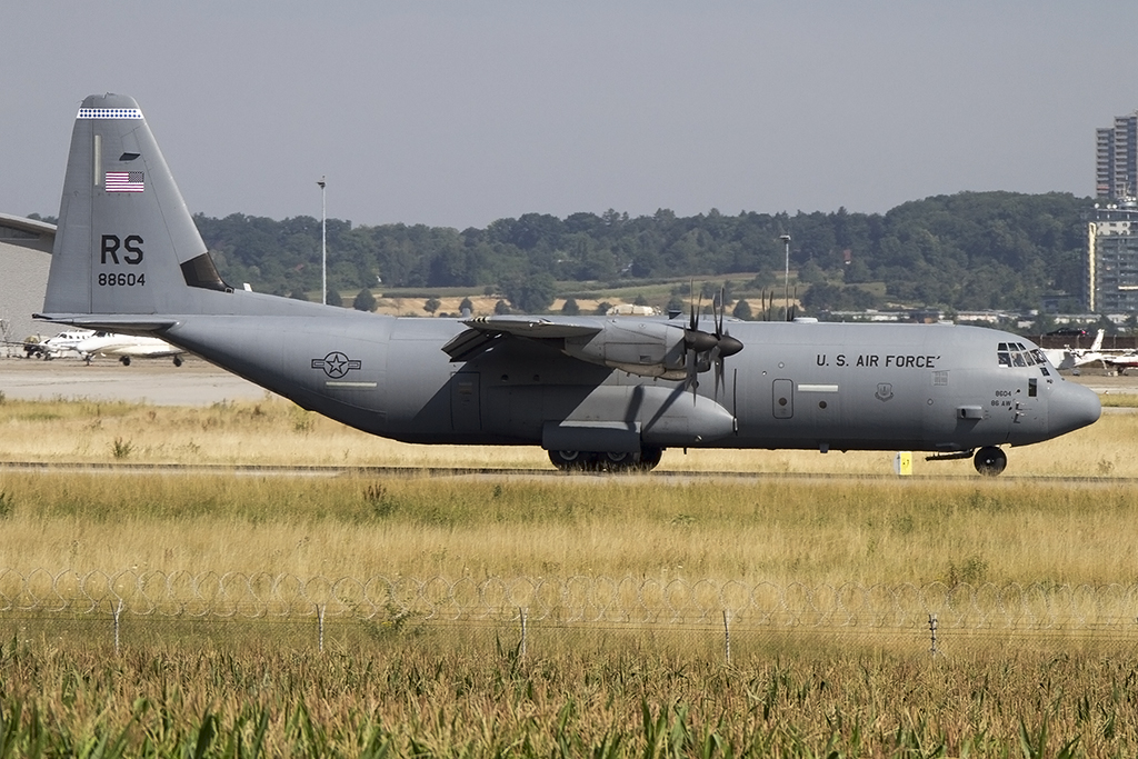 USA - Air Force, 08-8604, Lockheed, C-130J-30 Hercules, 24.07.2015, STR, Stuttgart, Germany