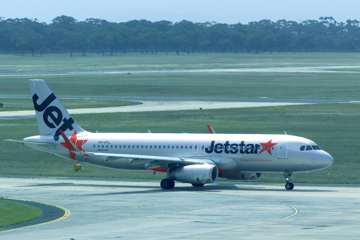 VH-VFL, Airbus A 320-232, Jetstar, Melbourne Airport (MEL), 20.1.2018