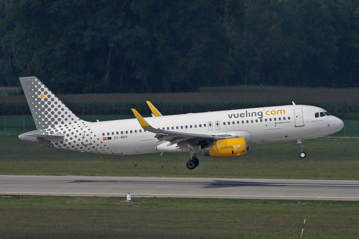 Vueling Airlines, EC-MKN, Airbus, A 320-232 sl,  Arelis & Carlos , MUC-EDDM, München, 05.09.2018, Germany