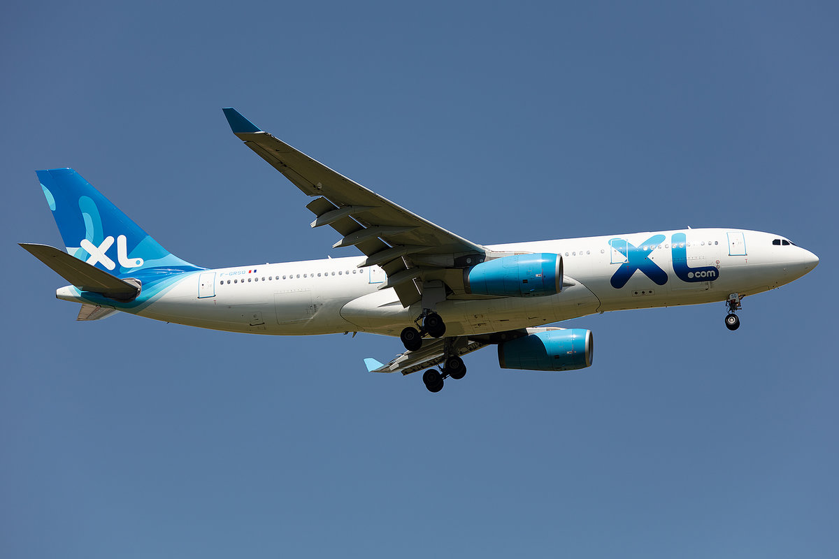 XL Airways, F-GRSQ, Airbus, A330-243, 14.05.2019, CDG, Paris, France