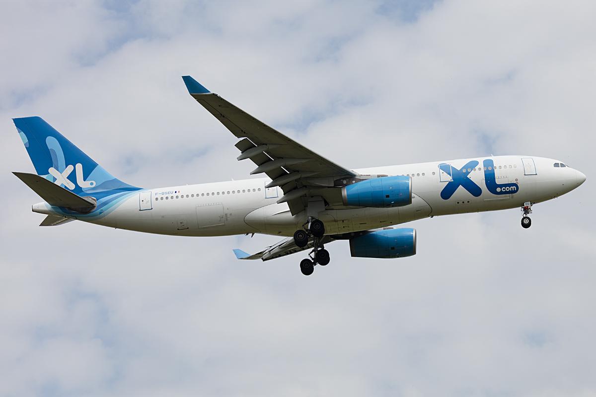 Xl airways f gseu airbus a330 243 cdg for Airbus a330 xl airways interieur