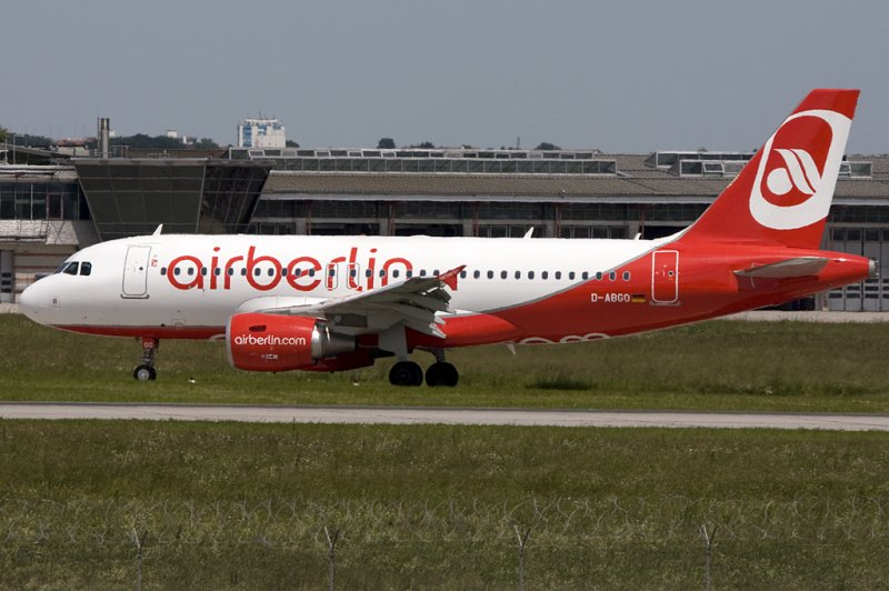 Air Berlin, D-ABGO, Airbus, A319-112, 03.06.2009, STR, Stuttgart, Germany