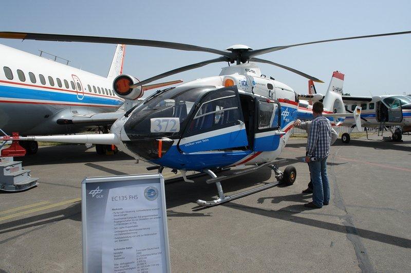 d hfhs eurocopter ec 135 fhs der hubschrauber ist ein versuchstr ger f r die steuerung ber. Black Bedroom Furniture Sets. Home Design Ideas