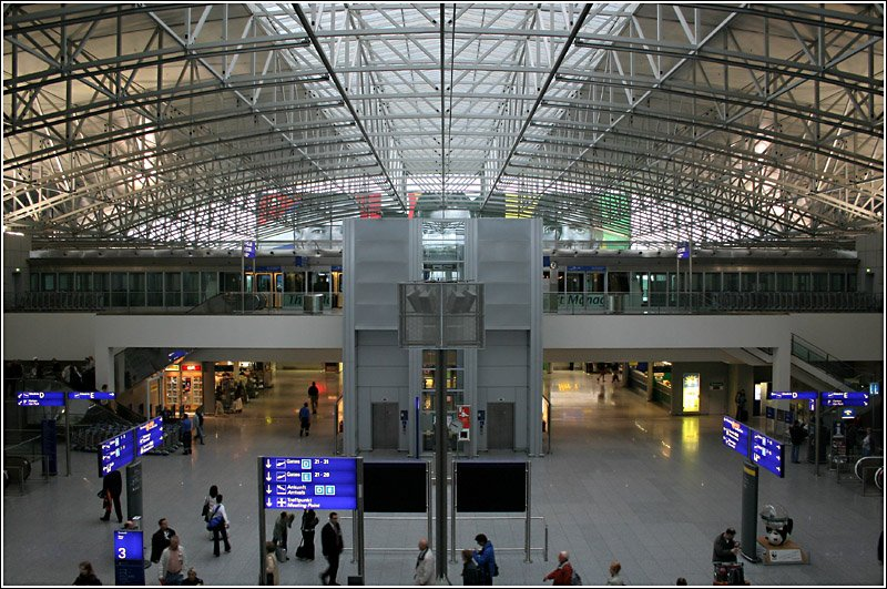 Terminal Flughafen Frankfurt