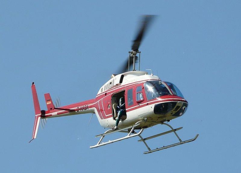 Hubschrauber-Bluschenjob