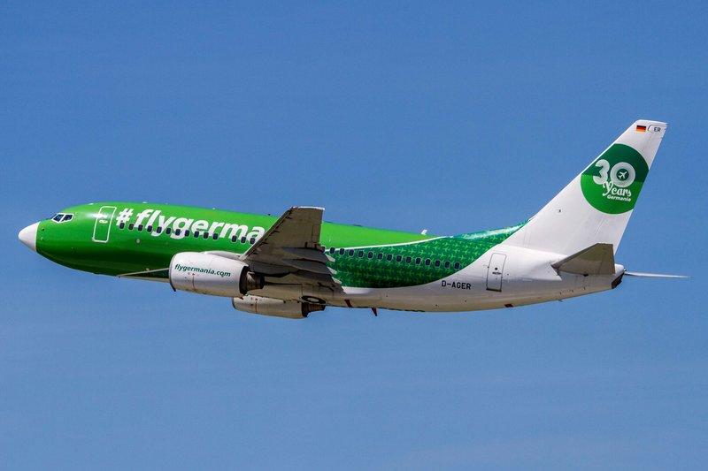 Germania (ST-GMI), D-AGER, Boeing, 737-75B (30-years Germania-Lkrg ...
