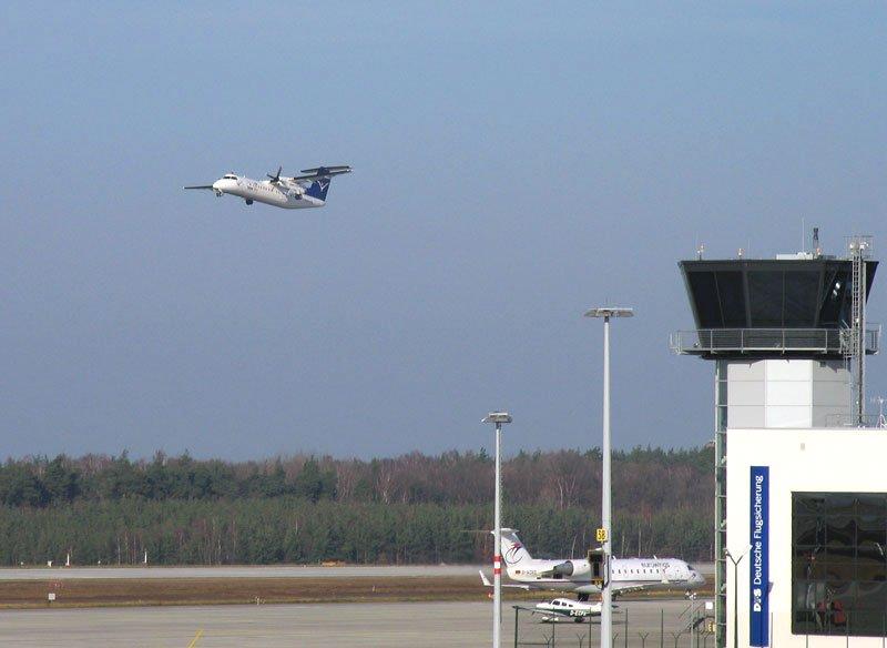 Flug Düsseldorf Friedrichshafen Intersky