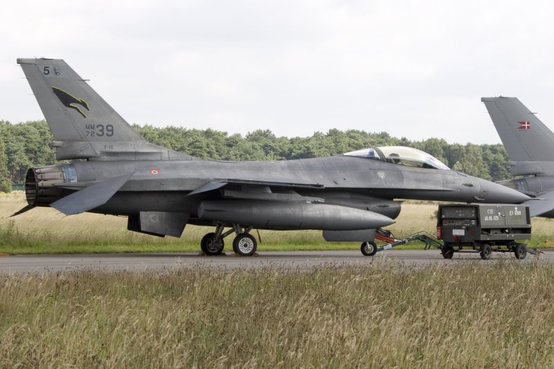 Italy - Air Force, General Dynamics, MM7239, F-16A, Fighting Falcon, 17.07.2007, EBBL, Kleine-Brogel, Belgium