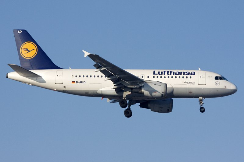 Lufthansa, D-AILD, Airbus, A319-114, 09.01.2009, MUC, München, Germany