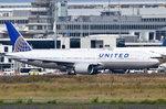 N775UA United Airlines Boeing 777-222  zum Start in Frankfurt am 06.08.2016