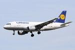 D-AILS Lufthansa Airbus A319-114 'Heide'  in Frankfurt am 06.08.2016 beim Landeanflug