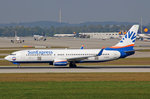 SunExpress Germany, D-ASXF, Boeing 737-8AS, 25.September 2016, MUC München, Germany.
