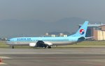 Korean Air, HL7726, Boeing 737-900, Busan-Gimhae Airport (PUS), 20.5.2016