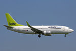 Air Baltic, YL-BBX, Boeing 737-36Q, 31.August 2016, ZRH Zürich, Switzerland.