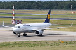 D-AIUP Lufthansa Airbus A320-214(WL)   in Tegel am 07.07.2016 zum Gate