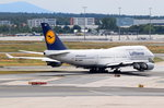 D-ABVM Lufthansa Boeing 747-430  Hessen    am Start in Frankfurt am 01.08.2016