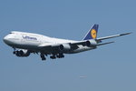 Lufthansa Boeing B747-830 D-ABYC, cn(MSN): 37828,  Frankfurt Rhein-Main International, 26.05.2016.