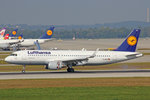 Lufthansa, D-AIUV, Airbus A320-214 SL, 25.September 2016, MUC München, Germany.