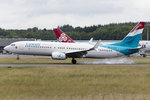 Luxair, LX-LBA, Boeing, B737-8C9, 22.06.2016, LUX, Luxembourg , Luxembourg