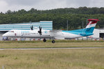 Luxair, LX-LQC, Bombardier, DHC-8-402 Q400, 22.06.2016, LUX, Luxembourg , Luxembourg