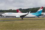 Luxair, LX-LGU, Boeing, B737-8C9, 22.06.2016, LUX, Luxembourg , Luxembourg