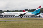 Luxair, LX-LBB, Boeing, B737-86J, 22.06.2016, LUX, Luxembourg , Luxembourg