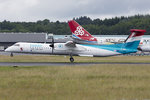Luxair, LX-LGN, Bombardier, DHC-8-402 Q400, 22.06.2016, LUX, Luxembourg , Luxembourg