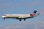 SAS (Operated by Cimber), OY-KFA, Bombardier CRJ 900, 28.April 2016, ZRH Zürich, Switzerland.