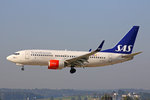 SAS Scandinavian Airlines, SE-REU, Boeing 737-76N,  Folke Viking , 13.September 2016, ZRH Zürich, Switzerland.