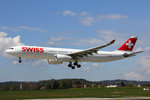 SWISS International Air Lines, HB-JHA, Airbus A330-343,  Schwyz , 28.April 2016, ZRH Zürich, Switzerland.