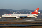 SWISS International Air Lines, HB-IWN, McDonnell Douglas MD-11, 15.Januar 2003, ZRH Zürich, Switzerland.