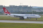 TC-JNB Turkish Airlines Airbus A330-203  in München zum Gate am 18.05.2016