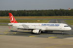 TC-JRD Turkish Airlines Airbus A321-231  zum Start am 01.10.2016 in Nürnberg